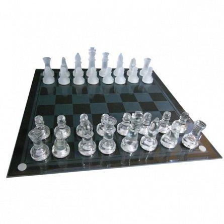 Joc sah de sticla - Glass Chess Set
