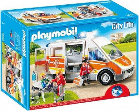 Playmobil-Ambulanta cu lumini si sunete