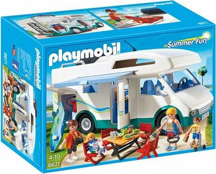 Playmobil-Masina de camping