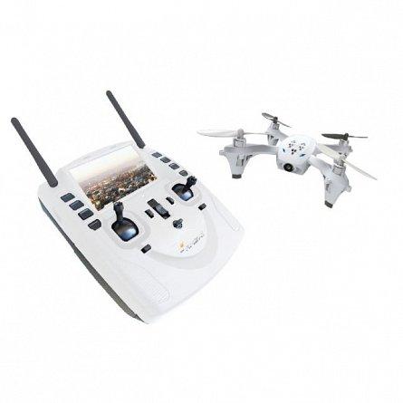 Drona Amewi AM X-FOUR FPV LCD 4.3, cam. 0.3MP, card 4GB