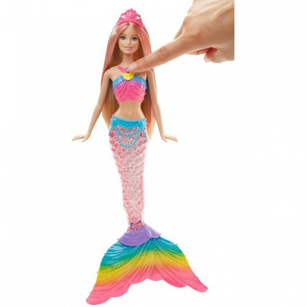 Papusa Barbie,Sirena,curcubeu