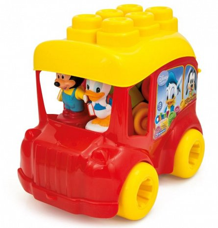 Autobuz Mickey cu cuburi,Clemmy