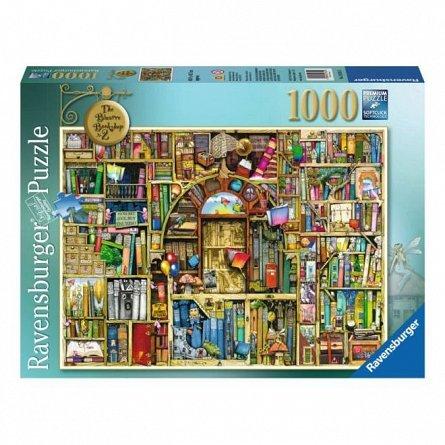 Puzzle Ravensburger - Libraria bizara 2, 1000 piese