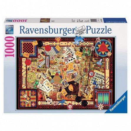 Puzzle Ravensburger - Jocuri antice, 1000 piese