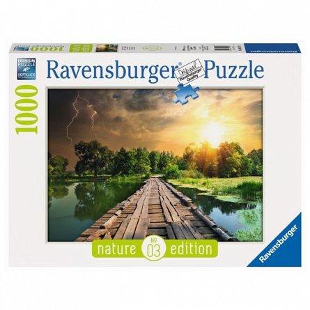 Puzzle Ravensburger - Cer mistic, 1000 piese