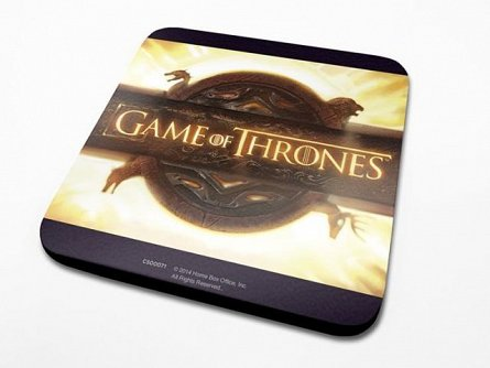 Suport Pahar Game Of Thrones (Opening Logo)