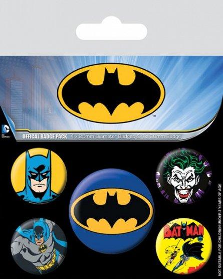 Set 5 insigne Batman