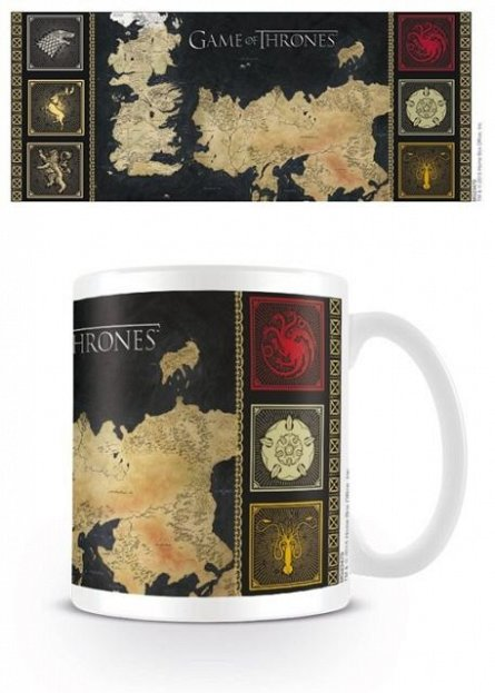 Cana Game Of Thrones (Map)