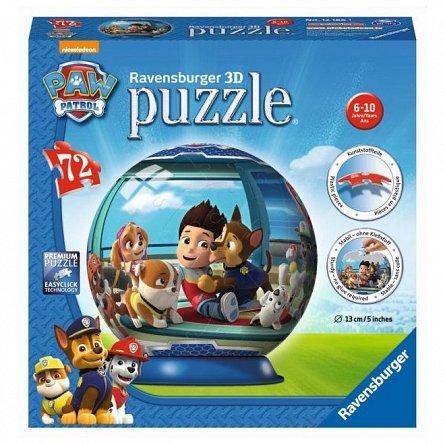 Puzzle 3D Ravensburger - Patrol, 72 piese