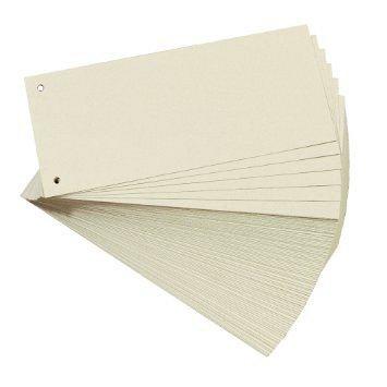 Separatoare din carton 105 x 235 mm, 100 bucati/set, bej