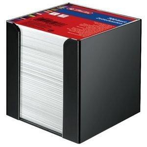 Cub hartie Herlitz , 90 x 90 mm, 80 g, 700 file, alb