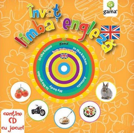 INVAT LIMBA ENGLEZA. CARTI EDUCATIVE CU CD. 2016
