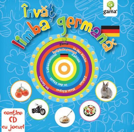 INVAT LIMBA GERMANA. CARTI EDUCATIVE CU CD. 2016
