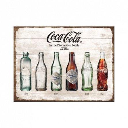 NA Magnet 14335 Coca-Cola Bottle Timeline