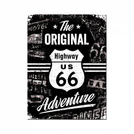 NA Magnet 14331 Route 66 The Original Adventure