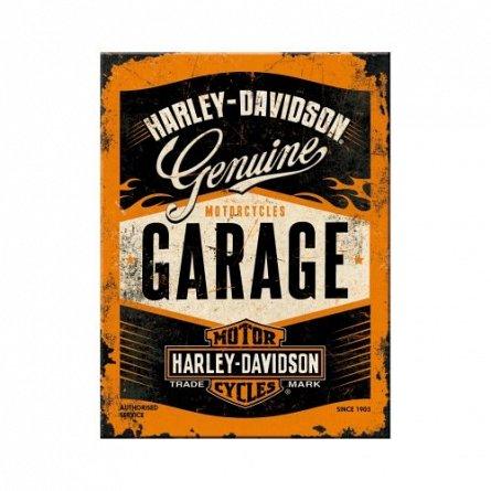 NA Magnet 14332 Harley-Davidson Garage