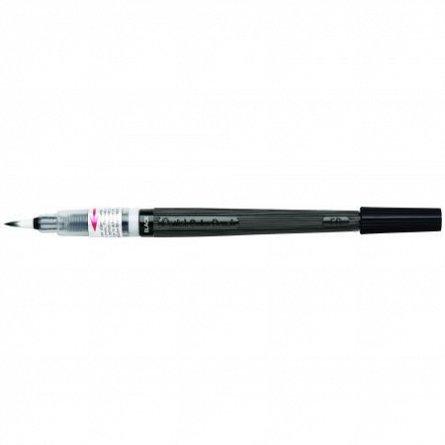 Pensula cu cerneala Pentel,negru