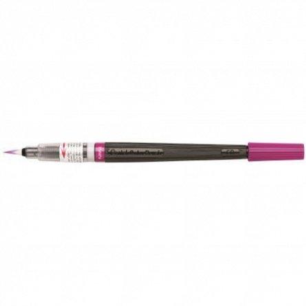 Pensula cu cerneala Pentel,violet