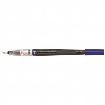 Pensula cu cerneala Pentel,albastru