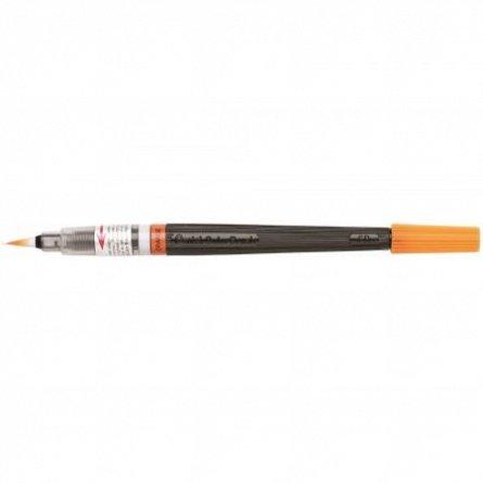 Pensula cu cerneala Pentel,portocaliu