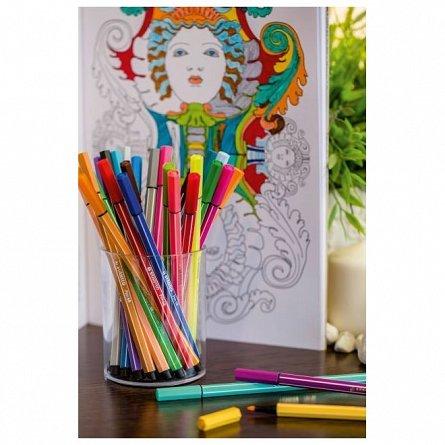 Marker Stabilo Pen 68,20buc/set,lila