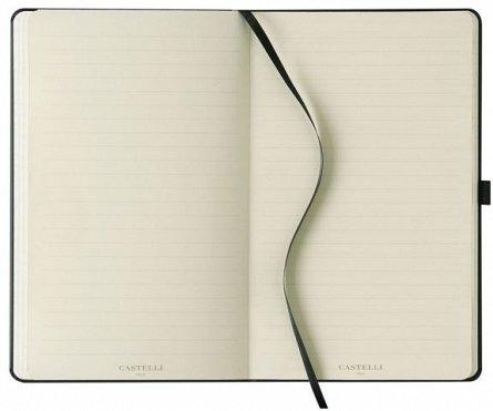 Agenda 13x21 cm, 120 file, Stripes Black, dictando
