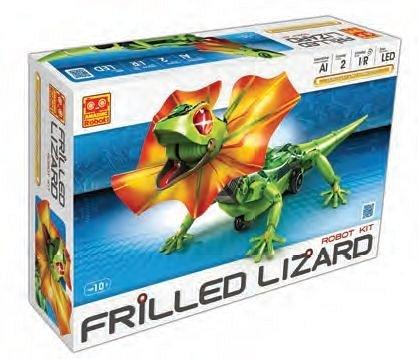 Kit educational STEM Soparla Robotica - Frilled Lizard