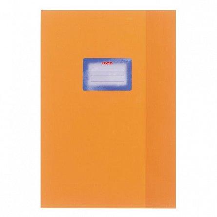 Coperta caiet A4,mata,portocaliu