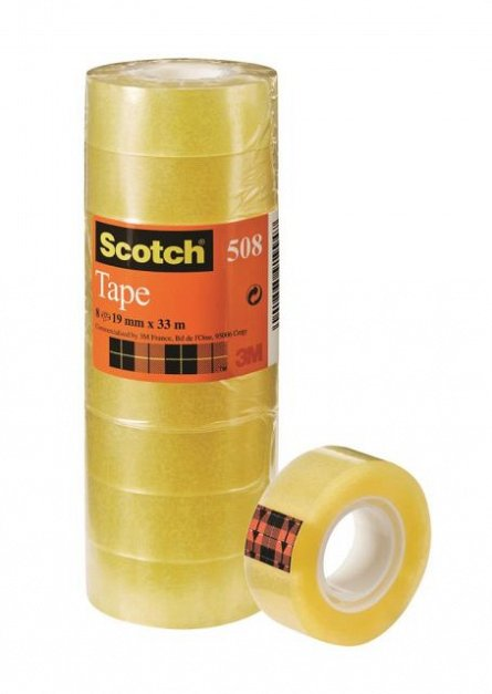 Banda adeziva 19mmx33m,Scotch�,crystal