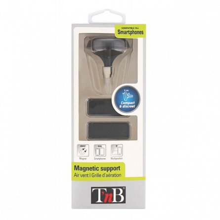 Suport auto magnetic, prindere vent. - TnB CARMAG3