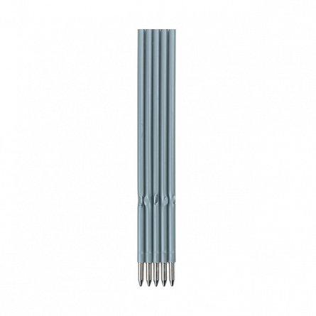 Mina pix x20,corp plastic,negru,5buc/set