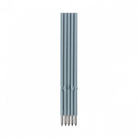 Mina pix x20,corp plastic,albastru,5buc/set