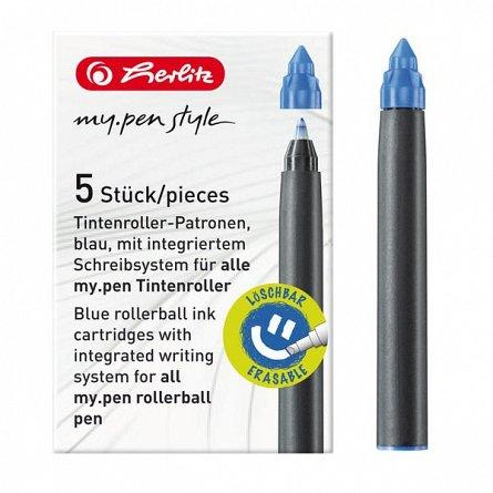 Mine roller My.Pen,cerneala,5b,albastru