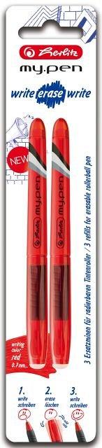 Roller My.Pen WEW,rosu,2buc/blister