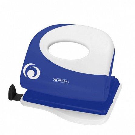 Perforator Herlitz, 2mm, albastru intens