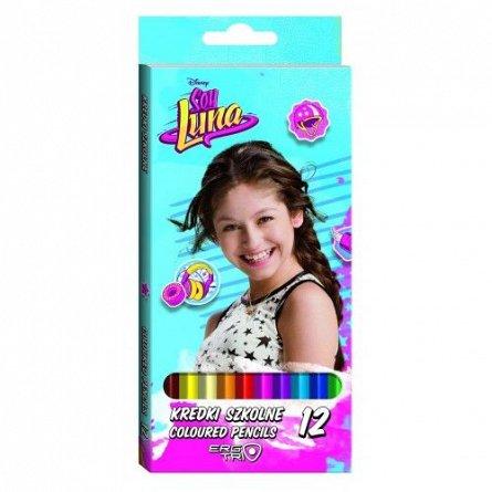 Creioane colorate 12buc/set,Soy Luna