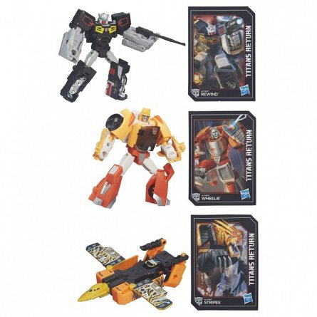 Transformers-Figurina Generations,Titan Returns