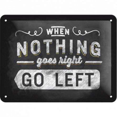 NA Placa 15x20 26193 Go left