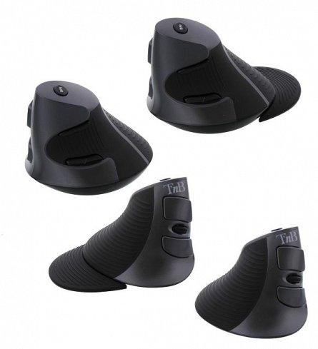 Mouse TnB Vertical Ergonomic, wireless, senzor laser