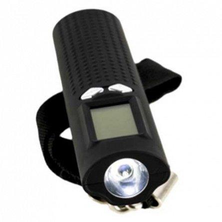 Lanterna Serioux cu acumulator portabil 2600mAh, cu cantar