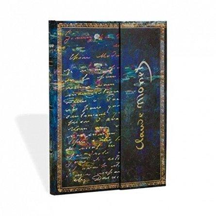 Agenda midi,Monet,Water Lilies,liniat