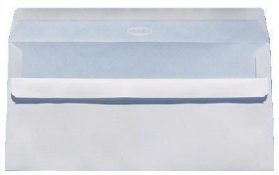 Plic DL,alb,siliconic,fer.st,100/set