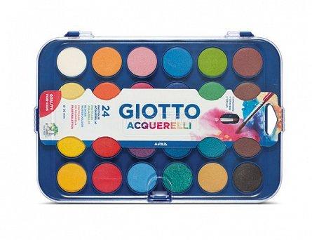 Acuarele 24 culori,Giotto Aquarella