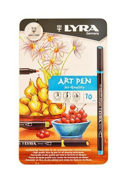 Marker Art Pen,Lyra,10cul/set