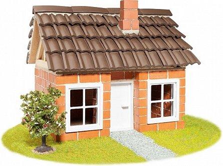 Constructie caramizi,casa cu mansarda,Teifoc