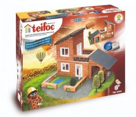 Constructie din caramizi,vila cu garaj,Teifoc
