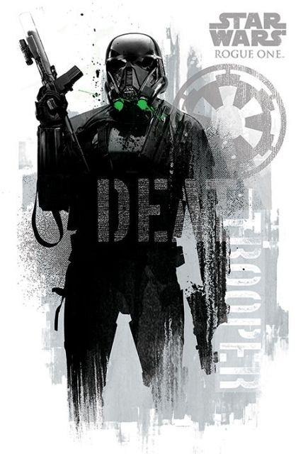 Poster StarWars RogueOne (DeathTrooperGrunge),61X91.5cm