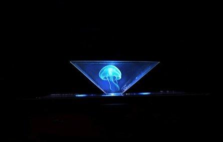 Dispozitiv pt redarea hologramelor Satzuma 3D Hologram