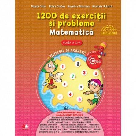 1200 DE EXERCITII SI PROBLEME DE MATEMATICA. CLASA A II-A