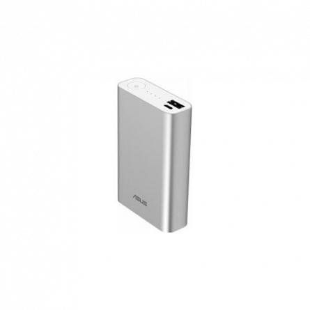 Baterie externa 10050mAh Asus ZenPower, Argintie, 2.4A